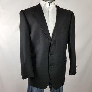 Ermenegildo Zegna | Black Silk & Cashmere blazer